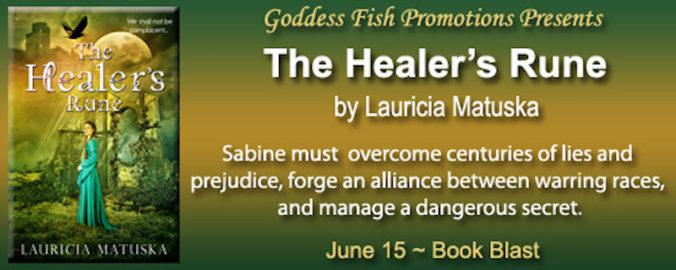 The Healers Rune banner
