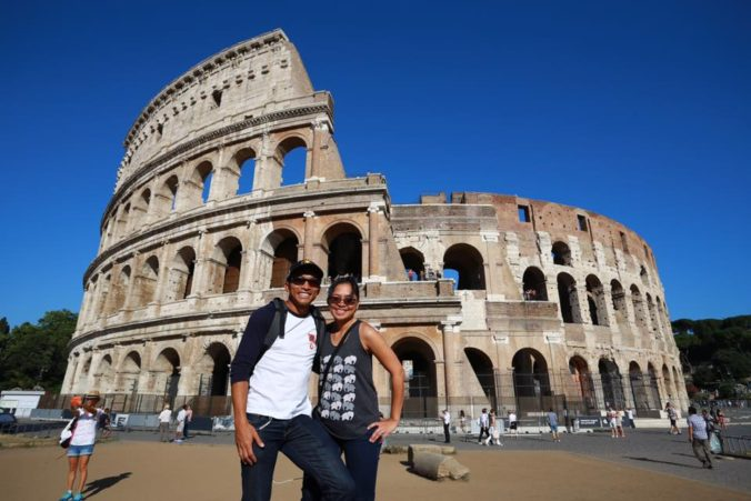 At the Colosseum (photo by Carpet Head)