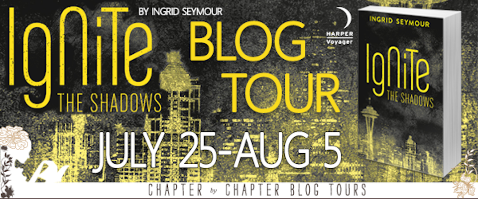 Review of Ignite The Shadows by Ingrid Seymour (plus a giveaway!)