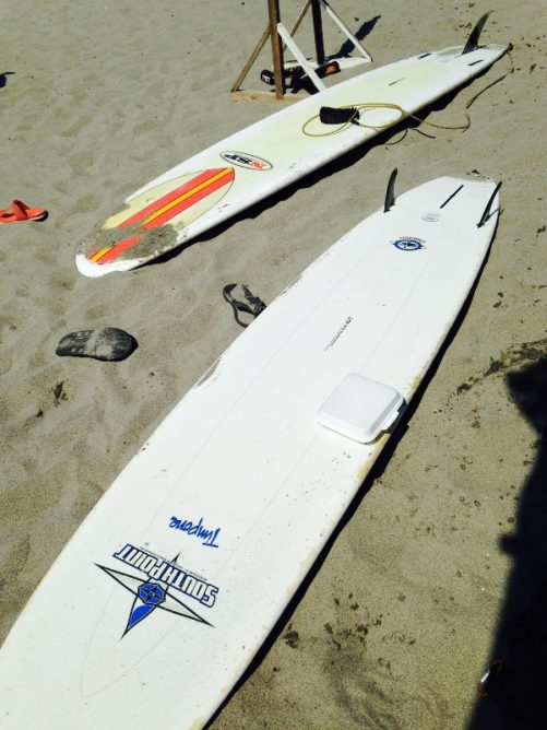 Random photo of surfboards.
