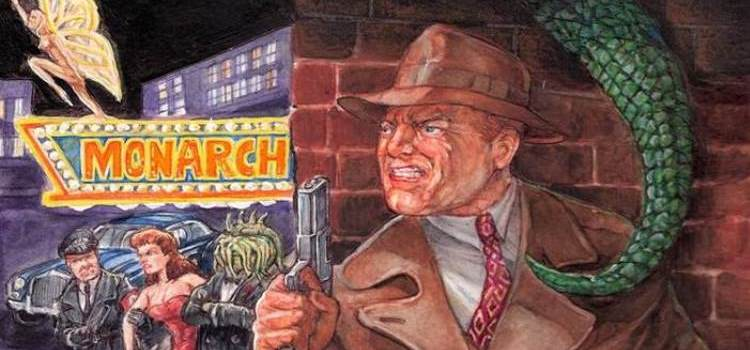 Dan OBrien Mobsters Monsters & Nazis banner