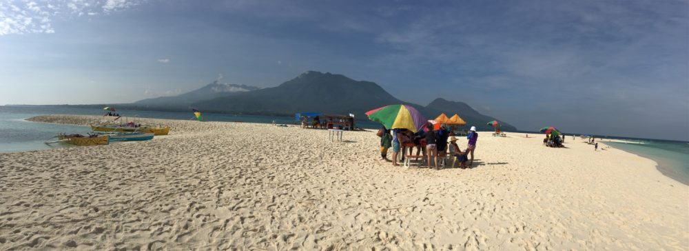 White Island with Camiguin in the background