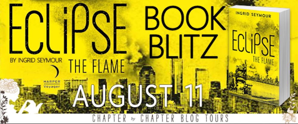 Spotlight and Giveaway: Eclipse the Flame by Ingrid Seymour