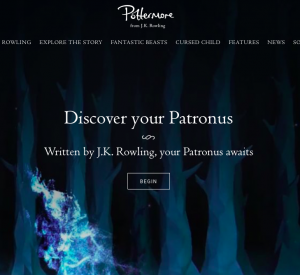 Have you discovered your Patronus yet?