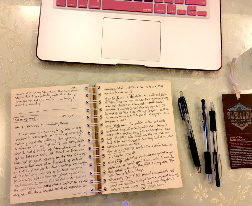 15 days of writing true