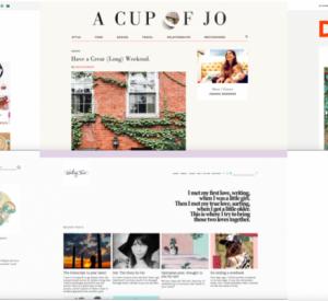 My latest minimalist design blog crushes