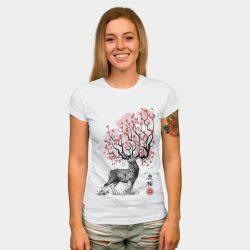 Sakura Deer by DrMonekers