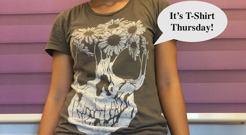 It's t-shirt Thursday!